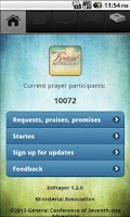Screenshot of InPrayer 1.2.0