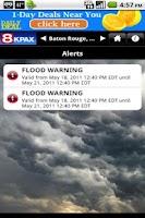 Screenshot of KPAX WX