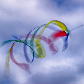Colors In The Wind by Jose Matutina - Artistic Objects Other Objects ( wind, orange county, colorful, huntington beach,  )