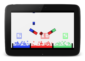 Screenshot of BouncyCube