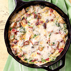Bacon and Potato Frittata