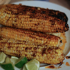 Grilled Corn with Roasted Garlic Butter