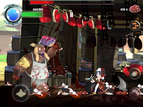 Twin Blades apk screenshot