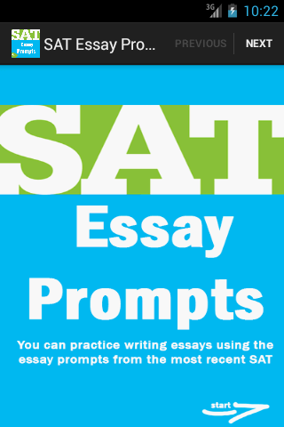 sat essay prompt creativity In the practicality and engineering-based society of today, creativity ranks as one of the lowest traits needed to succeed however, like it or not, the world needs creativity now more than ever before.