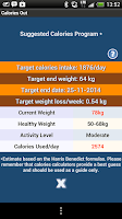 Screenshot of Calories Out