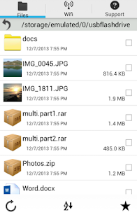USB Flash Drive & FileTransfer - screenshot