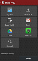 Screenshot of Droid Scan Lite