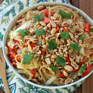 One-Pot Peanut Sesame Noodles & Veggies