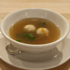 Craigie on Main's Matzo Ball Soup