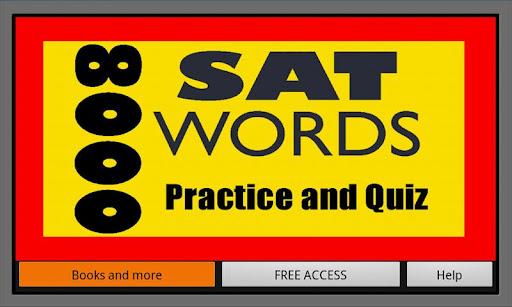 8000 SAT Words Practice Quiz
