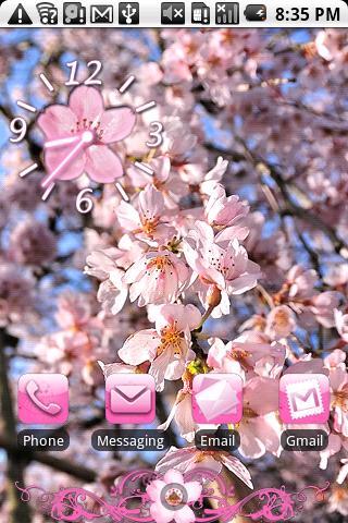 Cherry Blossom Theme 2 HD