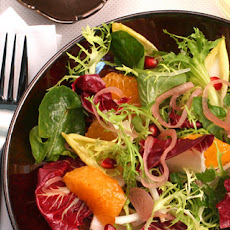 Chicory, Tangerine, and Pomegranate Salad Recipe