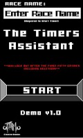 Screenshot of The Timers Assistant Demo