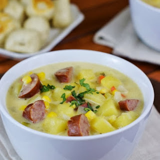 Kielbasa Potato Cheese Milk Soup Recipes