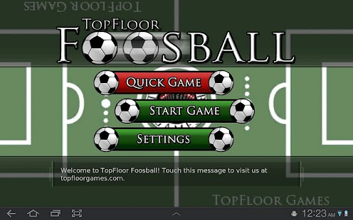 TopFloor Foosball - screenshot