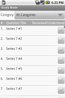 Screenshot of FINRA Series 7 Exam Prep