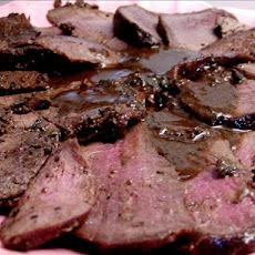 Venison Tenderloin with Cabernet Sauce