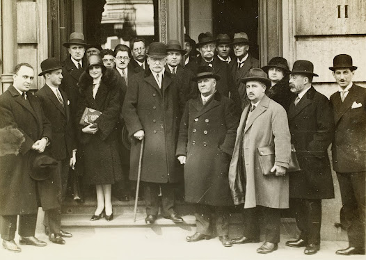 Meeting of the International Union of Associations for the League of Nations, Brussels, 1928