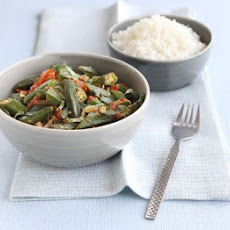 Spiced Okra Curry