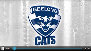 Screenshot of Geelong Cats Official App
