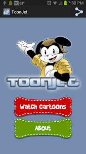 ToonJet: Watch Cartoons Now - screenshot