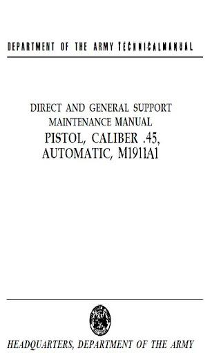 COLT PISTOL CAL. 45 AUTO 1911