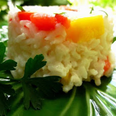Coconut Mango Rice