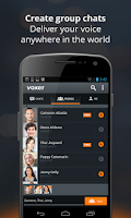 Screenshot of Voxer Walkie Talkie Messenger