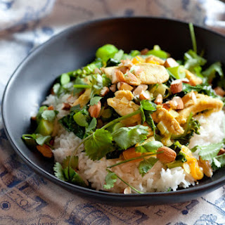 Chicken & Apricot Coconut Curry with Basmati Rice