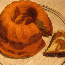 Lemon Molasses Marble Cake