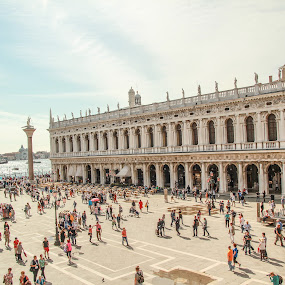 When in Venice by Camelia Cami - Buildings & Architecture Public & Historical ( venezia, san marco square, venice, san marco, italy )