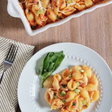 Conchiglie with Five Cheeses