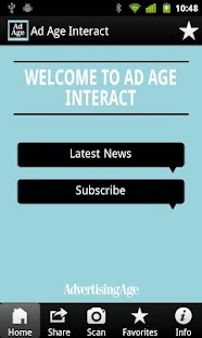 Ad Age Interact - screenshot