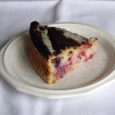 Redcurrant and Blueberry Semolina Cake