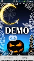 Screenshot of Halloween Ghosts Live DEMO