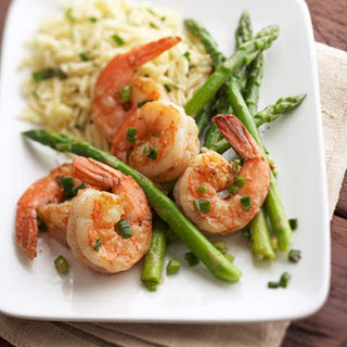 Sautéed Shrimp and Asparagus