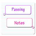 Passing Notes Go SMS Pro Theme icon