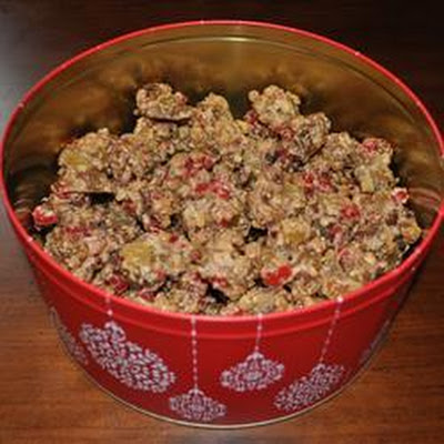 Fruit Cake Cookie Clusters