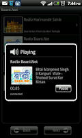 Screenshot of Baani.Net Live Kirtan