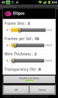 Screenshot of Live Wires 2.0 Live Wallpaper