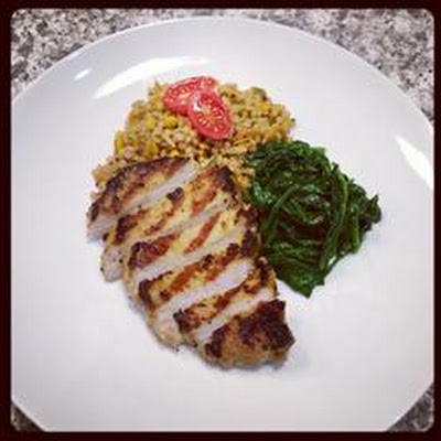 Grilled Ginger-Peanut Pork Tenderloin