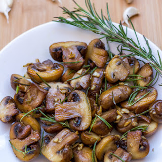 Garlic and Rosemary Sauteed Mushrooms