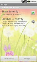 Screenshot of Blowball Pro - Live Wallpaper