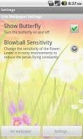 Screenshot of Blowball Pro - Live Wallpaper