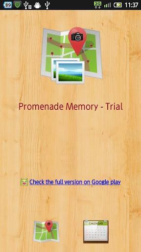 Promenade Memory - Trial