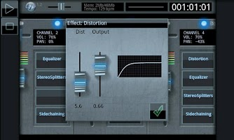 Screenshot of Zquence Studio