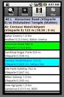 Screenshot of SmartShehar Mumbai Bus (Older)