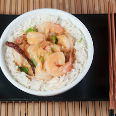 Thai Coconut Shrimp Curry With Red Curry Paste