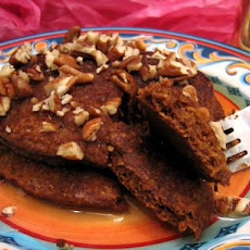 Gingerbread Pancakes (Healthy, Whole Wheat, and Low-Fat)