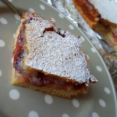 Lemon and Jam Slices